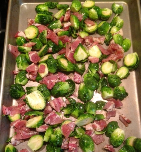 balsamic roasted brussels sprouts with pancetta | shoal creek cook
